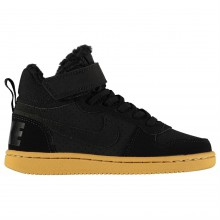 Nike Court Borough Mid Top Trainers Junior Boys
