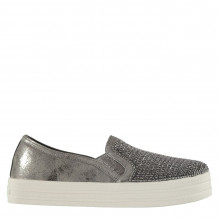 Skechers Double Up Slip On Trainers Ladies