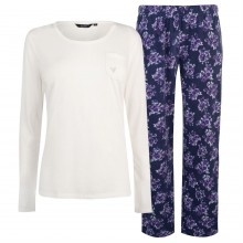 Miso Jersey Fleece PJ Set Ladies