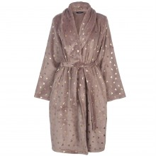 Miso Foil Print Robe Ladies