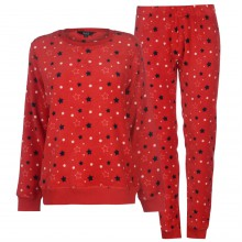 Miso Cuddle Fleece Pyjama Set Ladies