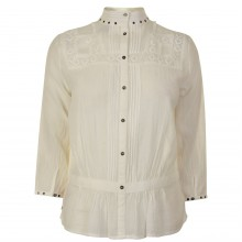 Maison Scotch Embroidered Top
