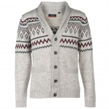 Мужской свитер Pierre Cardin FairIsle Cardigan Mens