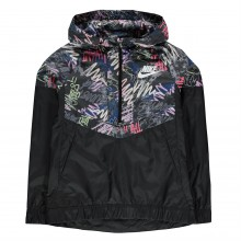 Nike All Over Pattern Windrunner Junior Girls