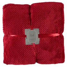 Linens and Lace 2 Pack Flannel Fleece Cushions