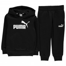 Puma Hooded Jogger Fleece Tracksuit Infant Boys