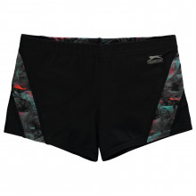 Плавки для мальчика Slazenger Curve Panel Boxer Swim Shorts Junior Boys