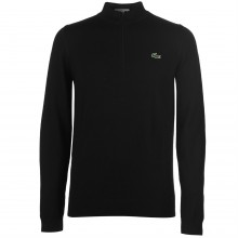 Lacoste Half Zip Knitted Pullover