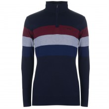 Lee Cooper QZ Knitted Jumper Mens