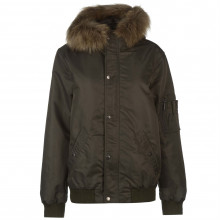 Criminal Asher Cropped Parka Jacket