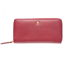 Maison De Nimes Mollie Leather Zip Purse