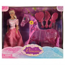 Harbour Dolls Princess Doll  And  Horse