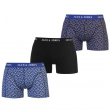 Мужские трусы Jack and Jones 3 Pack Rupert Trunks