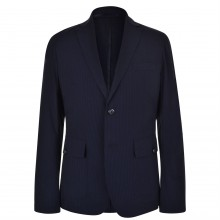 DKNY Check Slim Lightweight Blazer
