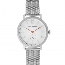 Ted Baker Large Metal Strap Watch