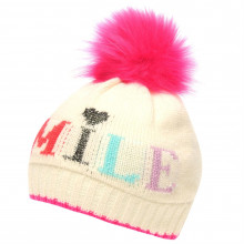 Детская шапка Crafted Essentials Slogan Hat Child Girls