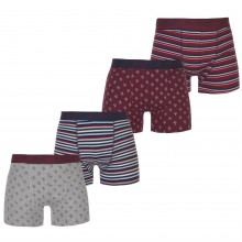 Мужские трусы Penguin 4 Pack Boxer Shorts Mens
