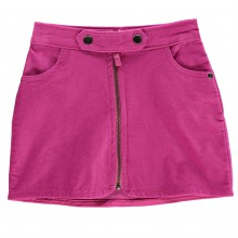 Crafted Cord Zip Skirt Infant Girls