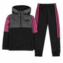 adidas Hojo Tracksuit Junior Girls