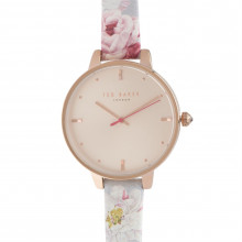 Ted Baker Floral Strap Watch