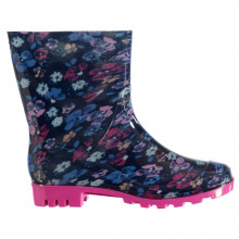 Rock and Rags Print Ladies Wellies