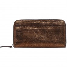 Label Lab Leather Zip Around Purse