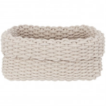 Hotel Collection Rope Basket, Small