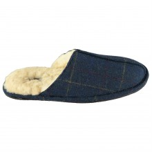 Домашние тапочки Howick Howick Check Tweed Mens Slippers