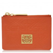 Biba Embossed Dana Coin Leather Purse