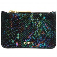 Biba Biba Leather Zip Top Coin Purse