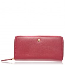 Maison De Nimes Maison Mollie Leather Zip Purse