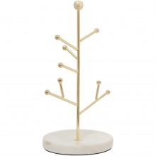 Linea Marble Based Jewellery Tree