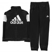 adidas Block Out Tracksuit Junior Boys
