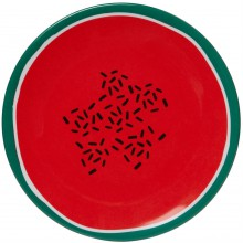 Linea Watermelon Melamine Side Plate Set of 4