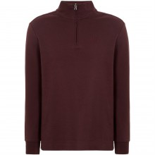 Howick Long Sleeve Whyte Funnel Neck Top