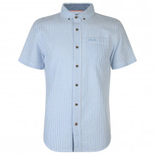 SoulCal Short Sleeve Striped Shirt Mens