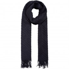 Label Lab Textured check scarf