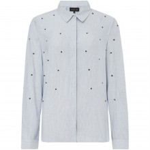Label Lab Star embroidered stripe shirt