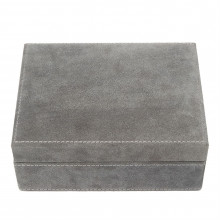 Linea Suede Jewellery Box