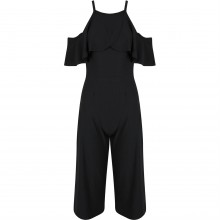 Be Jealous Frill Top Collotee Jumpsuit