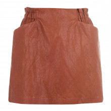 Женская юбка Only Faux Leather Mini Skirt