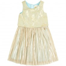 Character Girls Jasmine Pleated Jacquard