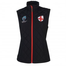 Женский жилет Team Rugby World Cup Quilted Gilet Ladies