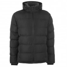 Мужская курточка Lee Cooper 2 Zip Bubble Jacket Mens