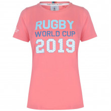 Женская футболка Rugby World Cup 2019 Logo T Shirt Ladies