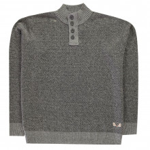 Мужской свитер D555 Zane Button Jumper Mens