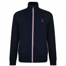 Мужской свитер HURLINGHAM POLO 1875 Zip Knitted Jumper
