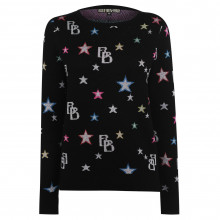 Biba Biba Star All Over Print Jumper