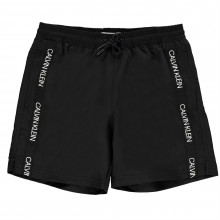 Плавки для мальчика Calvin Klein Boy's Tapered Swimming Trunks
