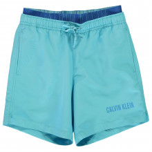 Плавки для мальчика Calvin Klein Boy's Intense Double Waistband Swim Shorts